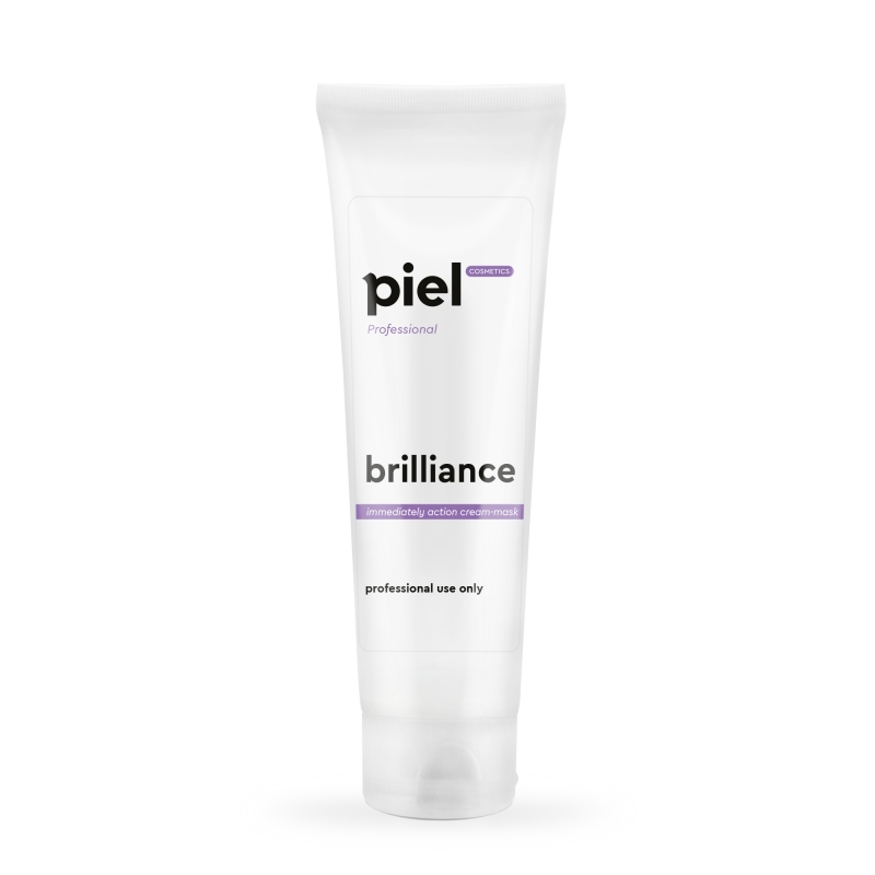 BRILLIANCE Radiance Moisturizing Cream-mask Ultra moisturizing cream mask momentary action