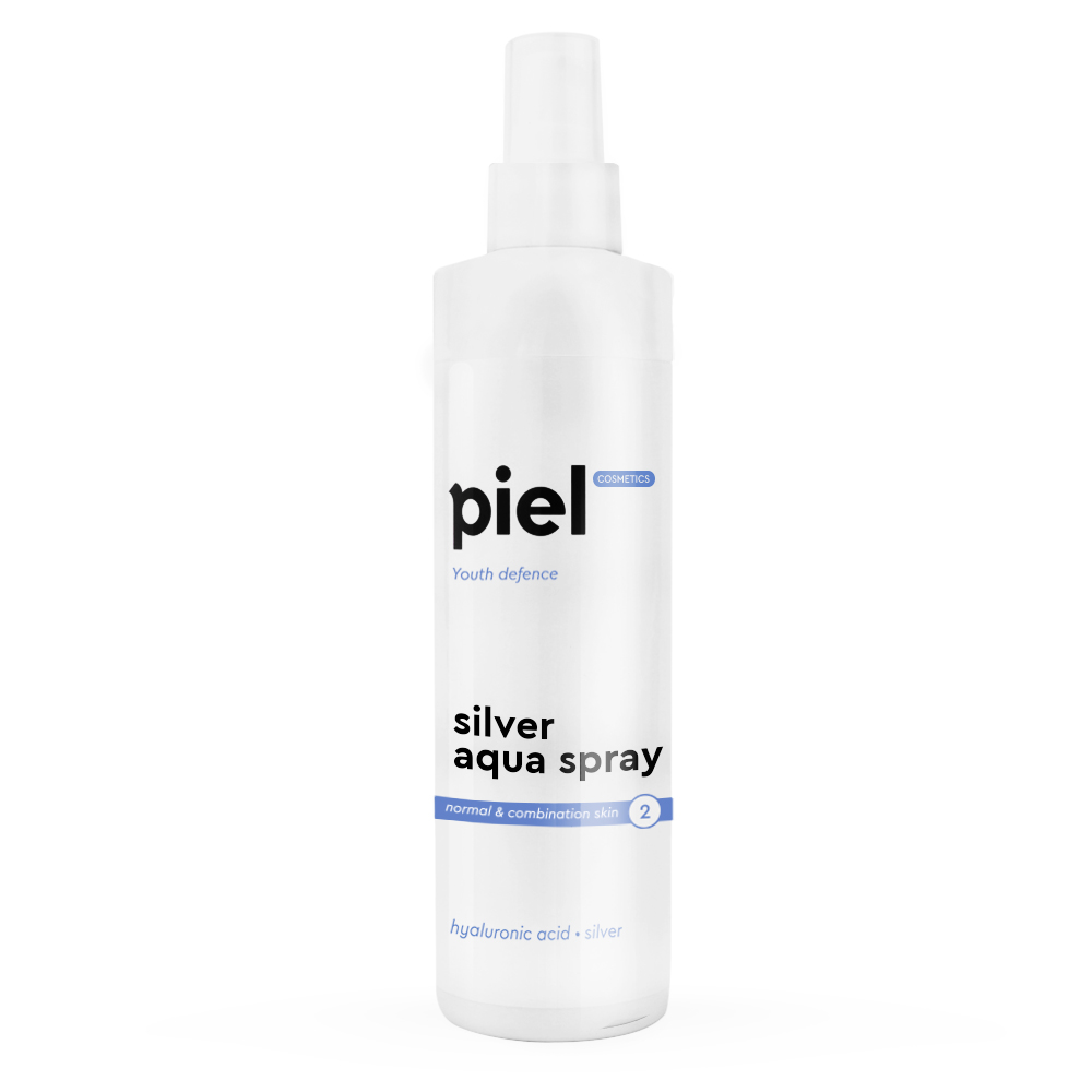 Silver Aqua Spray Moisturizing Spray for face Spray. For Normal and Combination skin